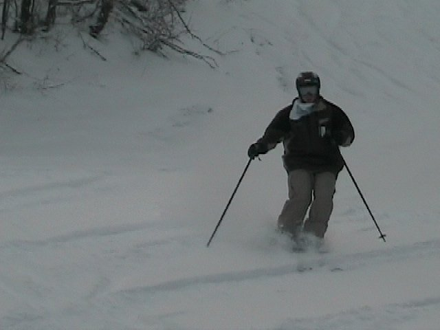 Powder in Sugarbush
