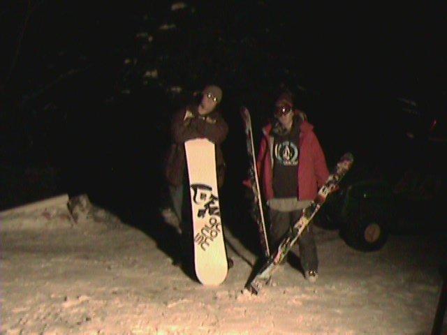 Night at cabin
