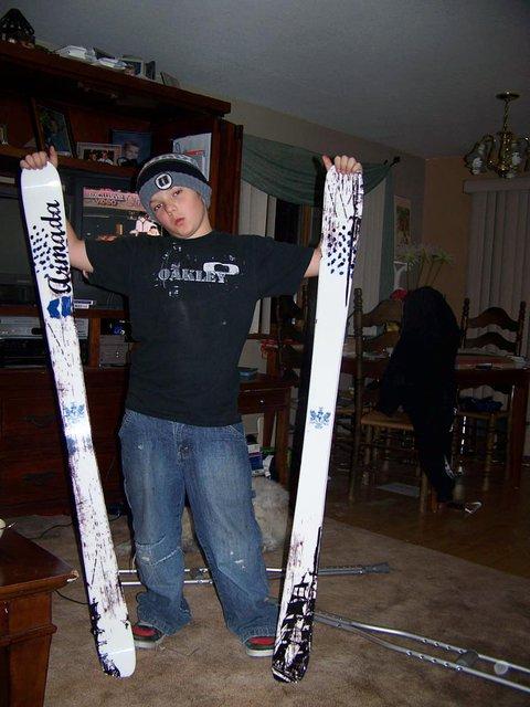 New set of skis ..Armada RULES