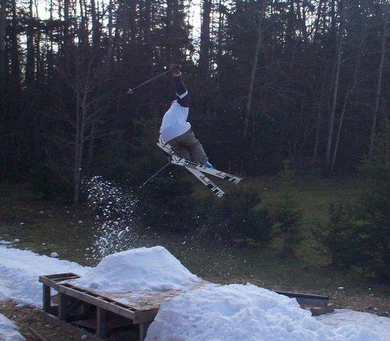 Backyard kicker