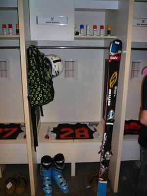 Locker Room at Icer