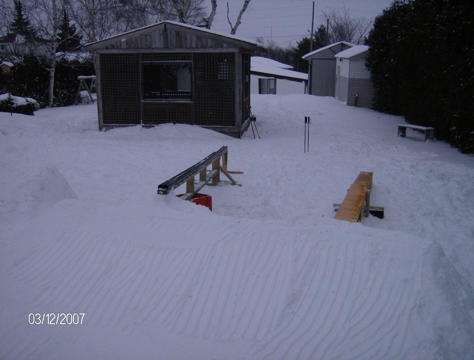 New Backyard Set Up