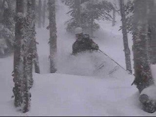 First Pow day in VT