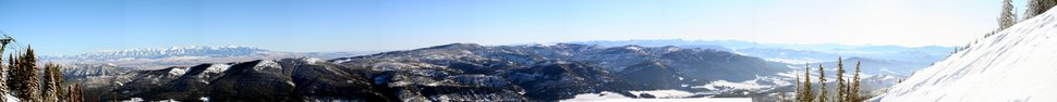 Pano from Bridger Lift