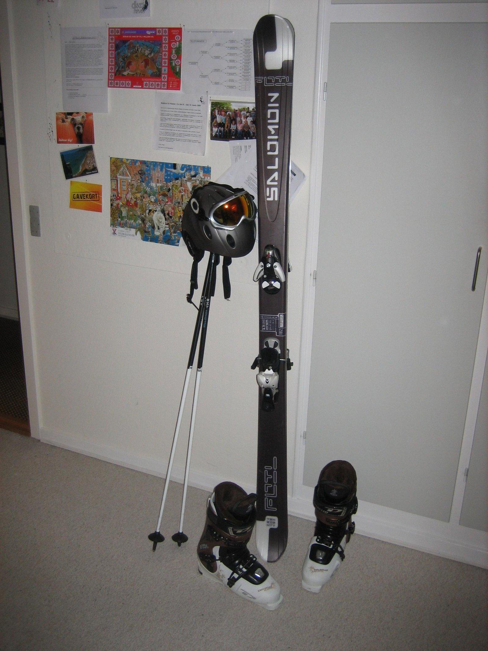 My equipment