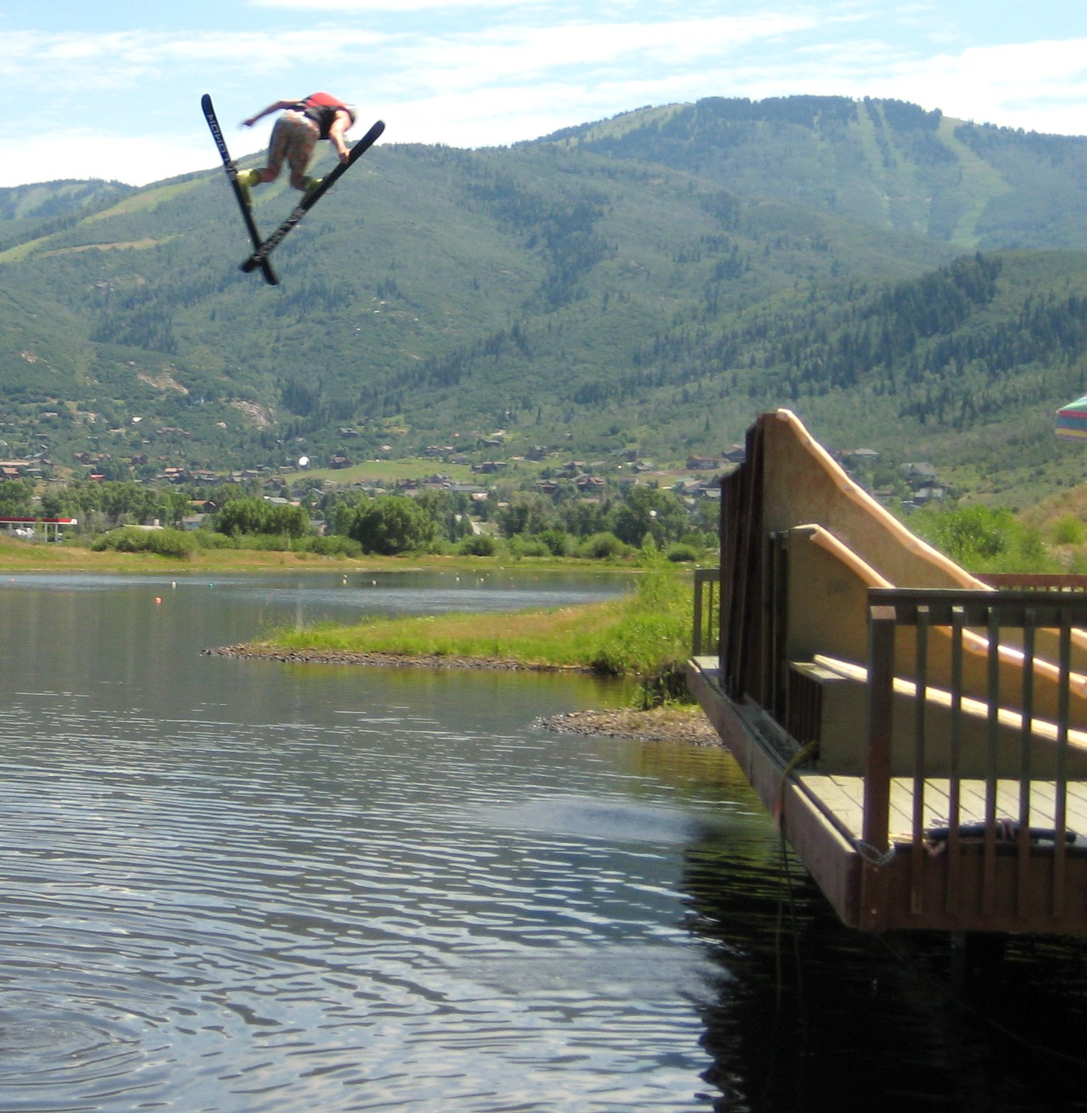 A day at the water ramps