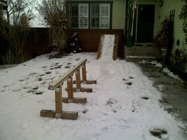 Yard setup