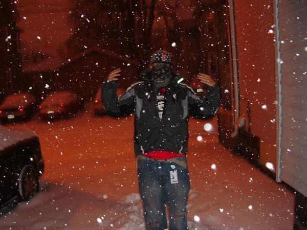 Finally Snowing in Salem