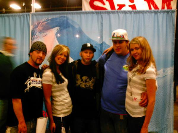 SHP crew at BEWI snowsports expo