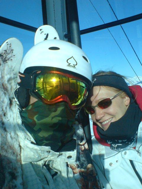 Skiing in Val Torrenes