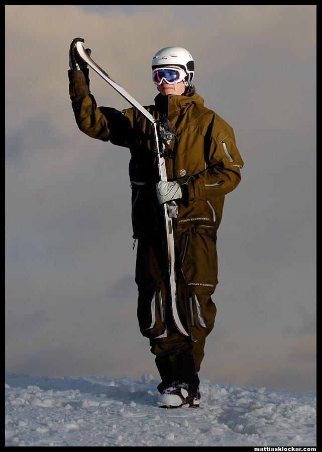 My ski dont like me