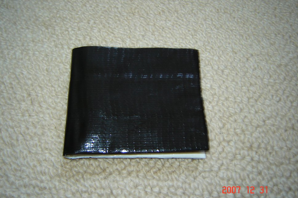 Duct tape armada wallet out side