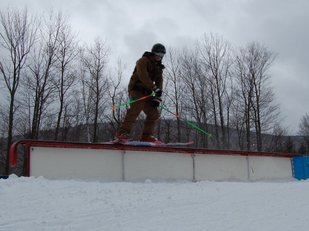 Tailslide, lookin at the camera