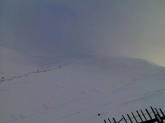 Glenshee Opening Weekend Part 2 6/1/08 (Glas Moal Loaded With Snow)