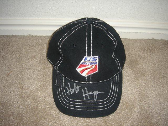 Holt Haga Autographed U.S. Ski Team Hat