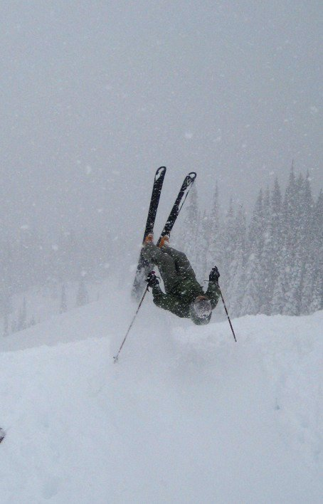 Backflippin the backcountry