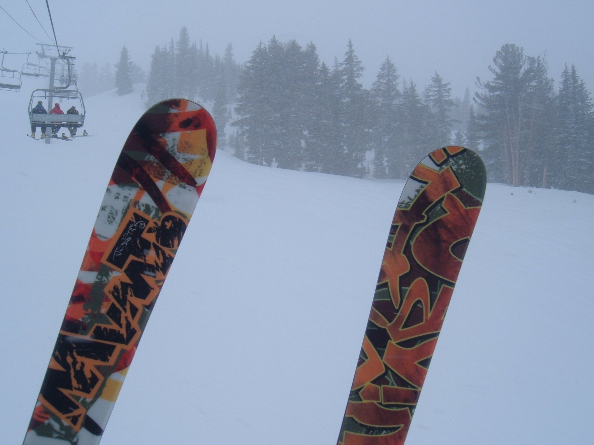 Riding up Chair 2