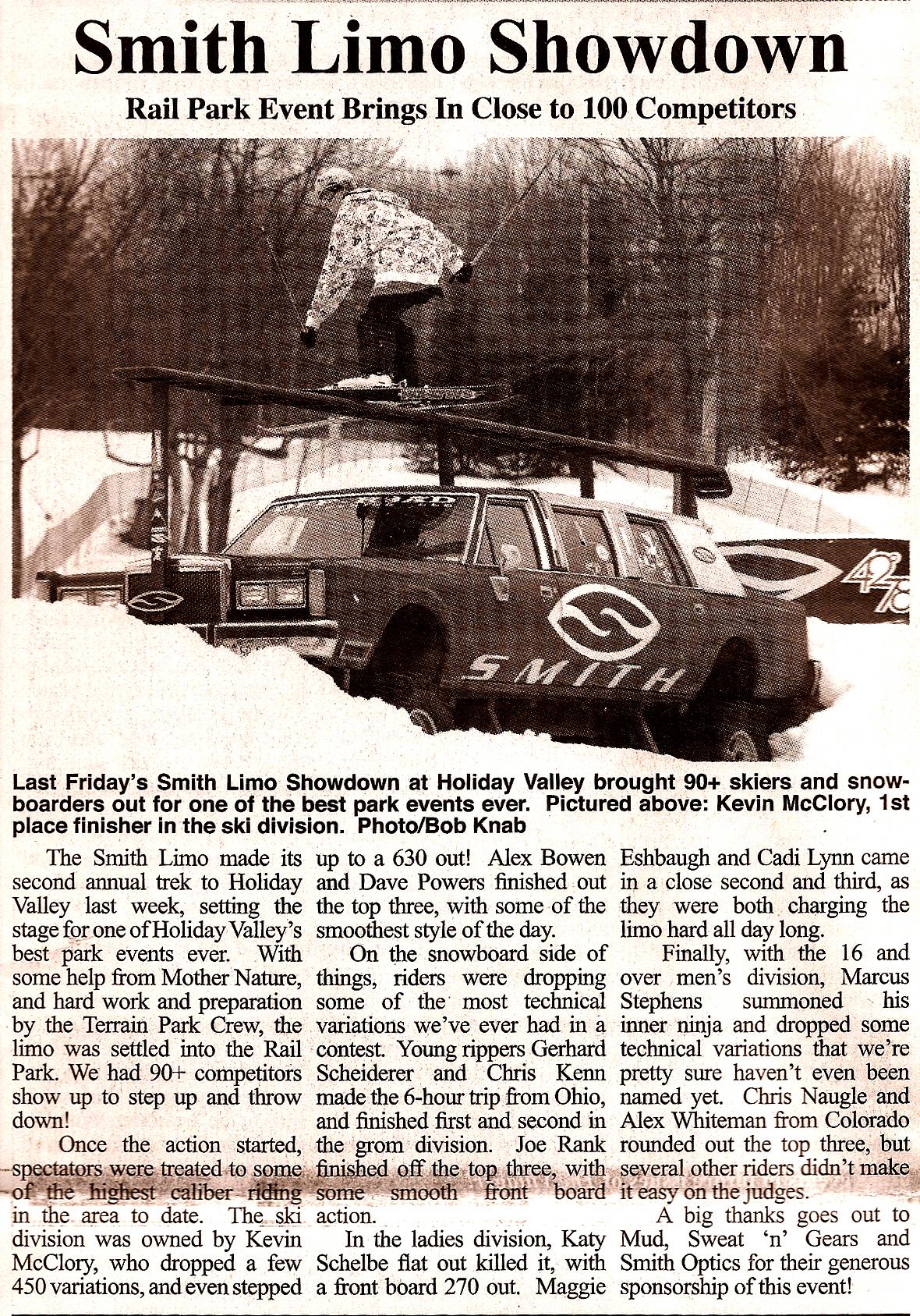 Smith limo showdown
