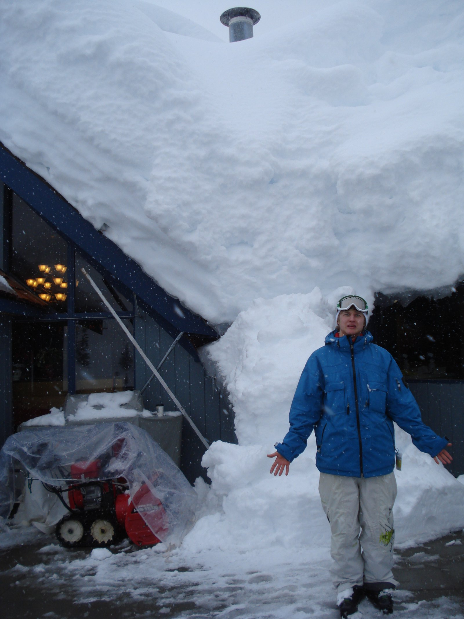 101cm of new snow