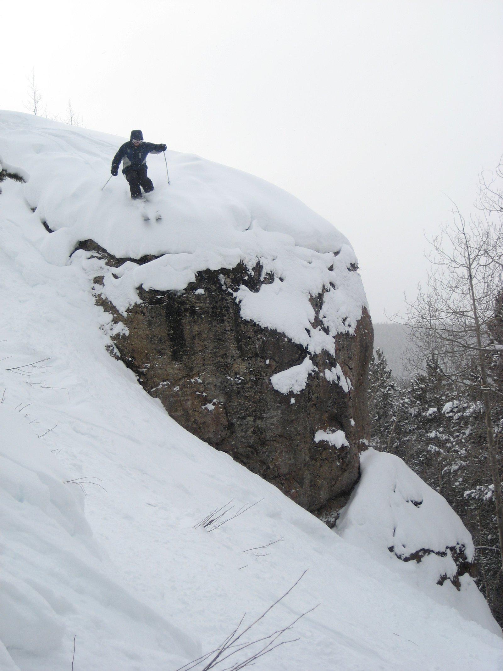 Cliff (small) at Vail