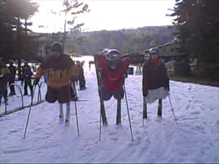 Ski trip clips (no music sorry)