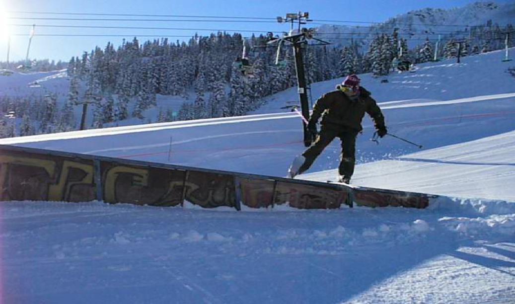 Slaying a rail