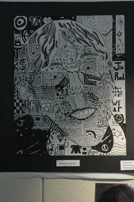 Portrait I drew of a friend
