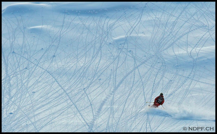 Skiing through zip's