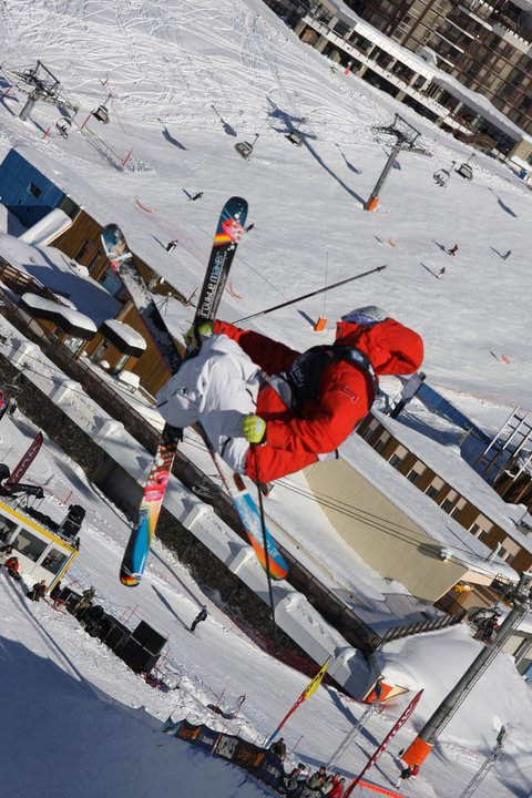 Mike Riddle Tignes airwaves
