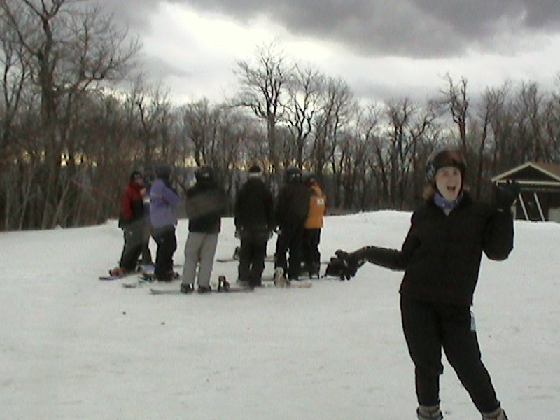 Evil snowboarder cult