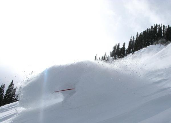 Digging for pow.