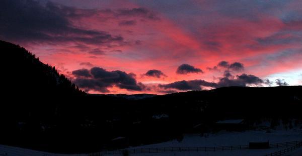 Sunrise in Breckenridge