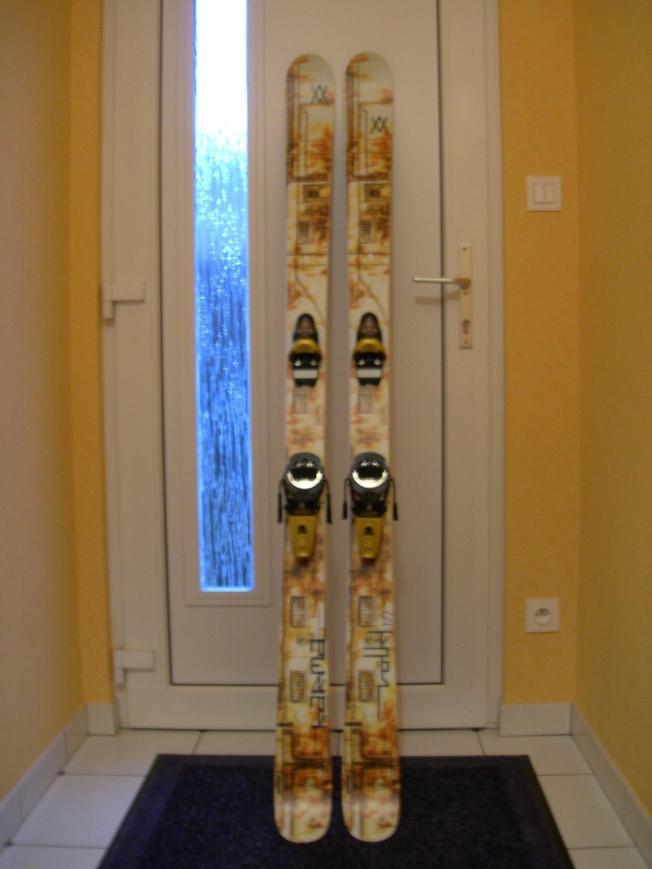 My skis volkl Karma 07 & fks