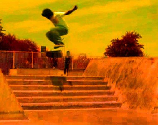 Nollie Flip 6 stair