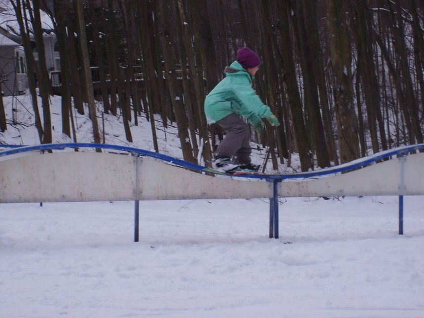 Backyard shreding the rolacosta