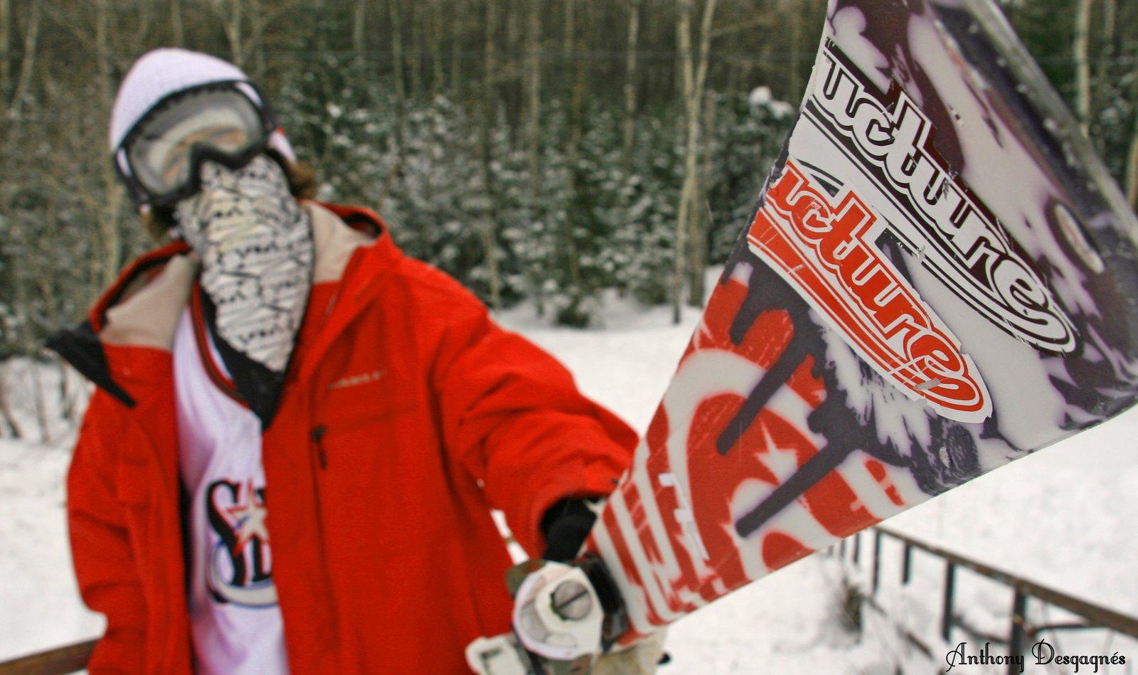 Crazy Ski Angle