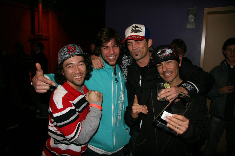 Jan Schuster of Voleurz, Johnny DeCesare of PBP, and members of The Go Big Project