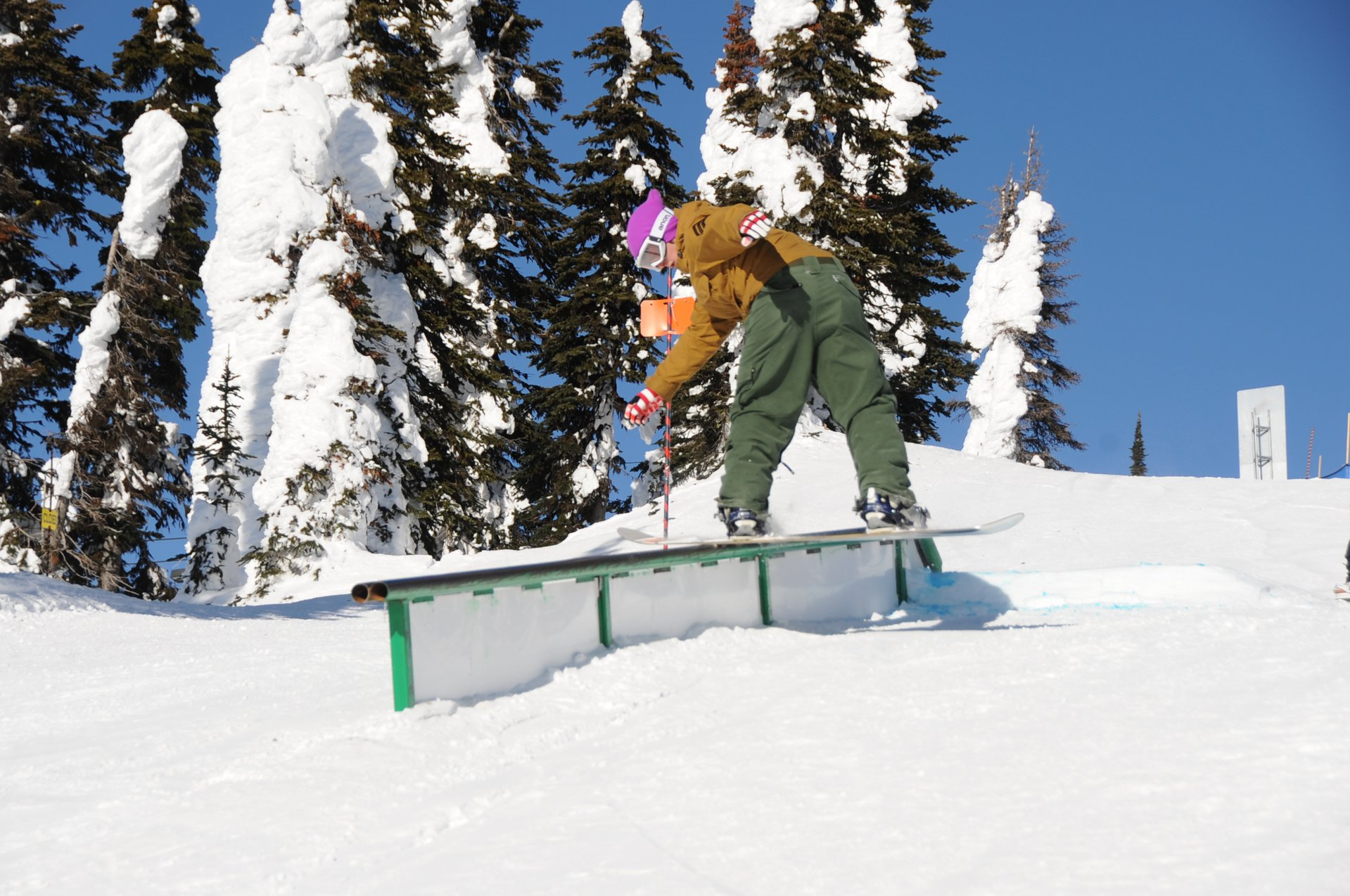 Feature 1 View 3 Snowboard