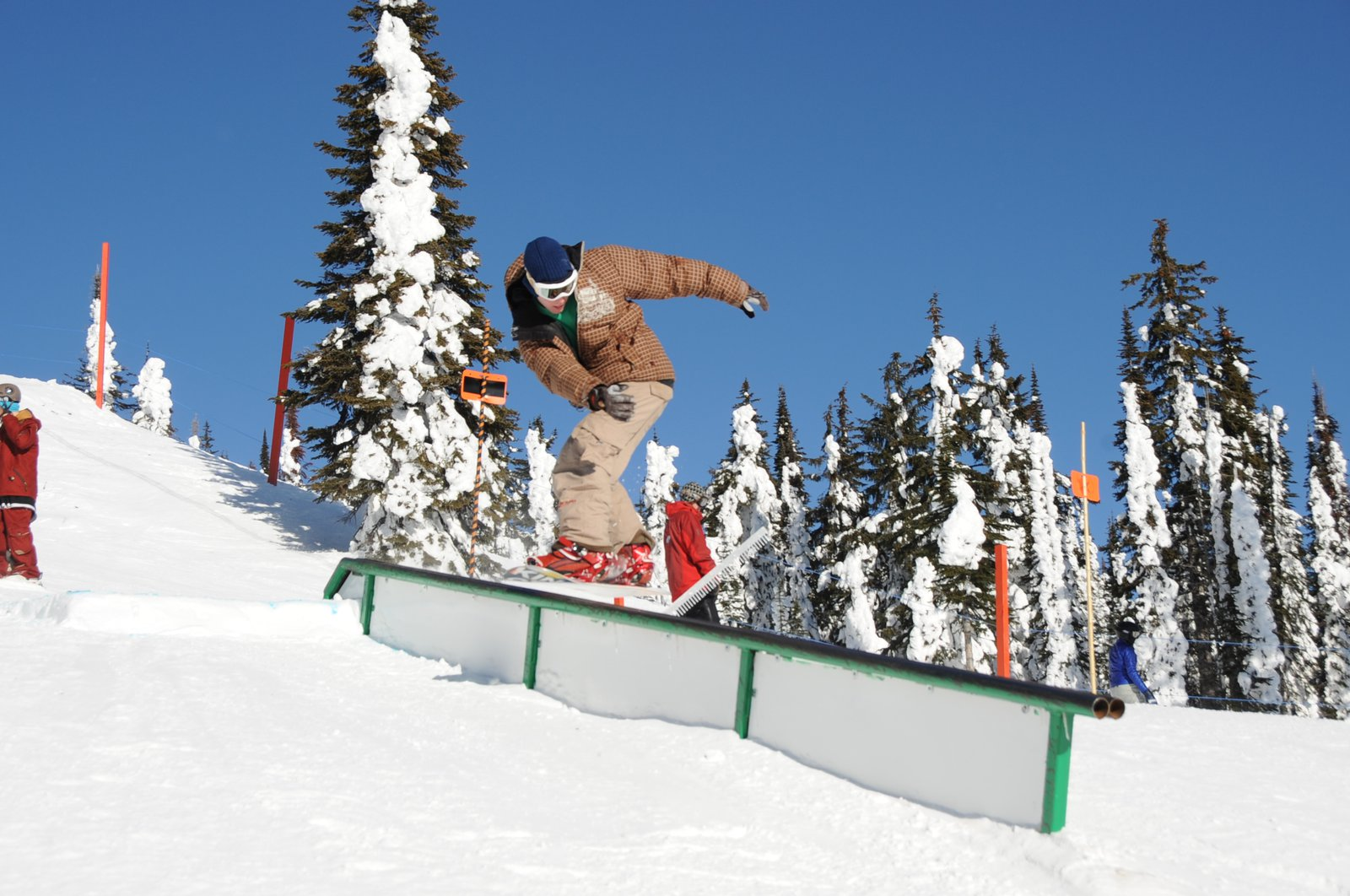 Feature #1 snowboard