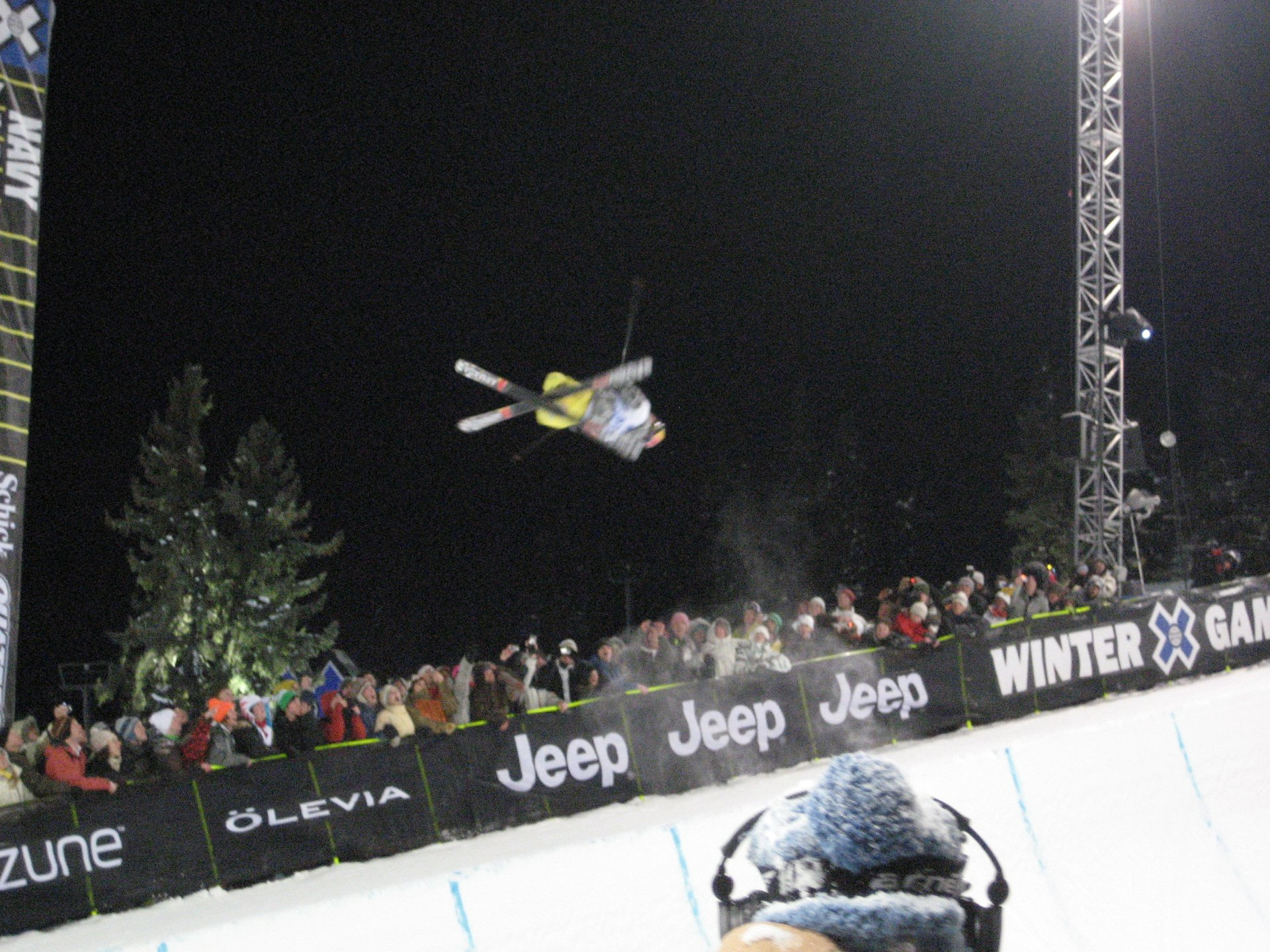 Tanner Hall - X Games Pipe Finals second run