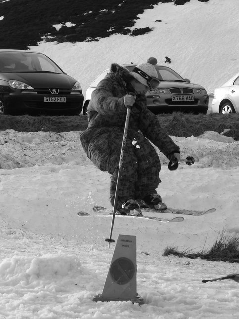 Glenshee Super Park Session One 27/1/08 (Shifty)