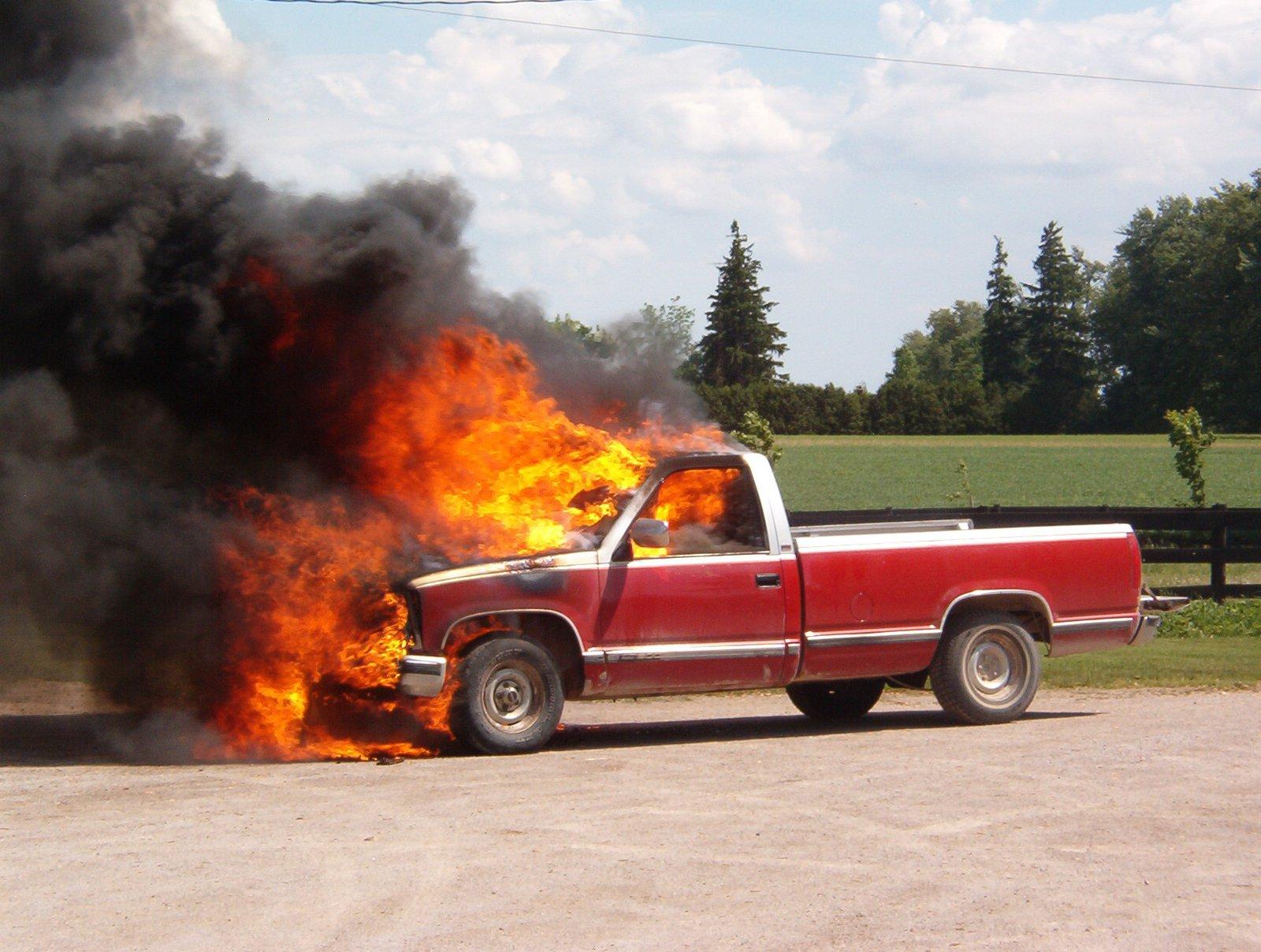'88 Sierra, Up in flames