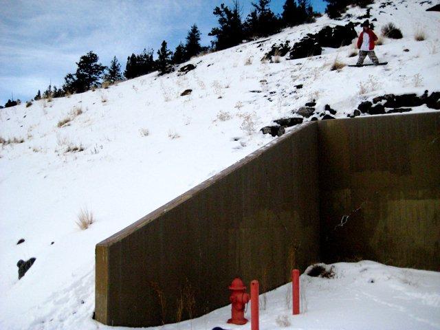 Gap To Down Ledge