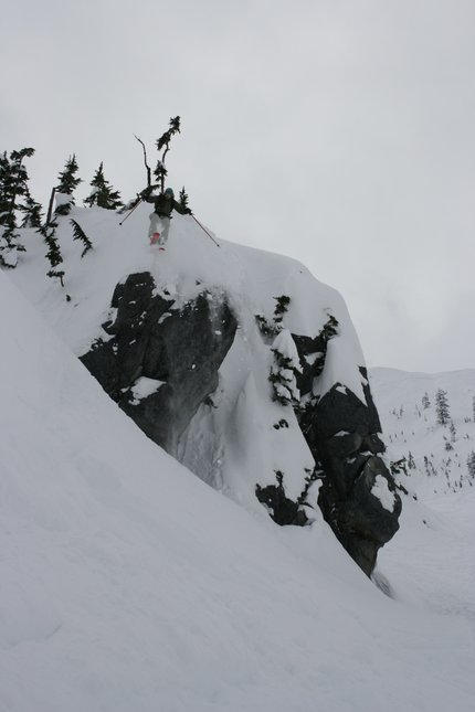 Crusified Cliff Drop