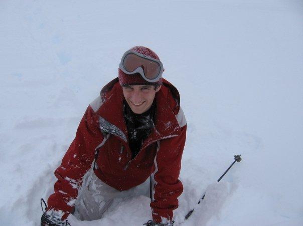 Snow wasnt too deep
