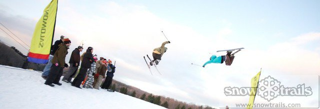 Snowtrails bir air practice