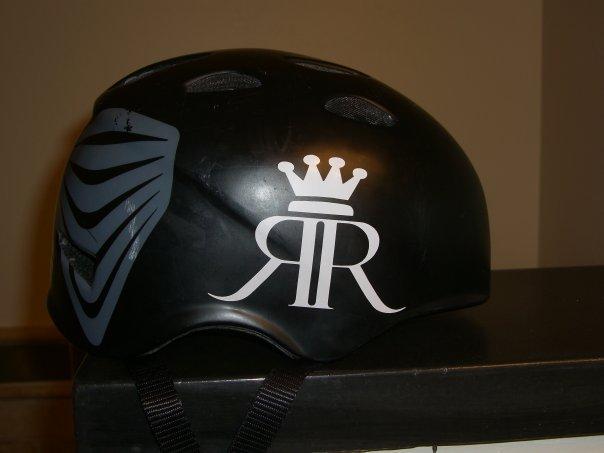 Die cut stickers for Royaltee