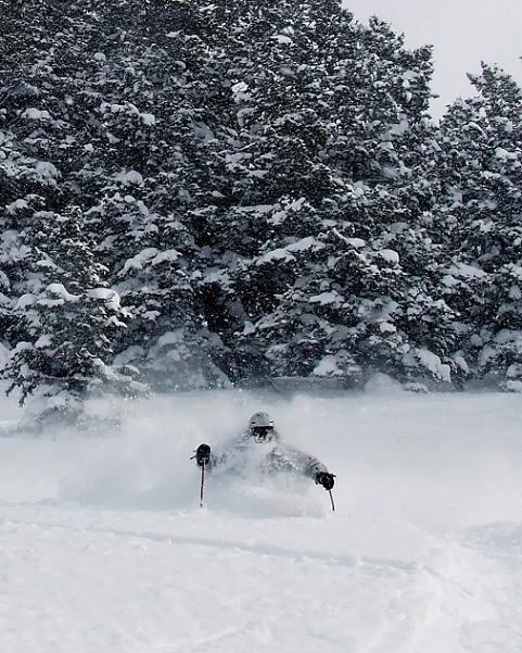Deep Snow at Pow Mountain