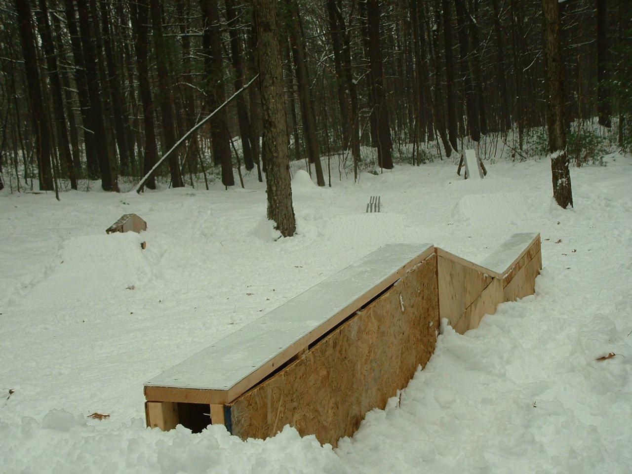 Lower backyard park