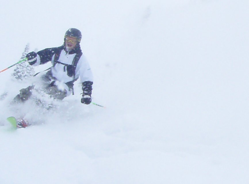 Big Smile on a Pow day